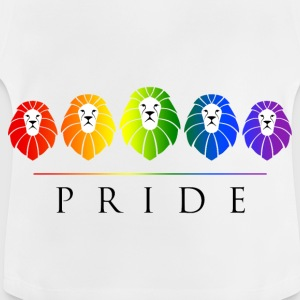 Gay Pride of Lions - LGBT Rainbow Shirts - Baby T-Shirt