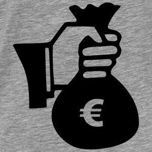 Dollar Geld Bank Sweaters - Mannen Premium T-shirt