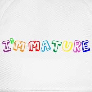 I'm Mature (immature) Multicolour Shirts - Baseball Cap