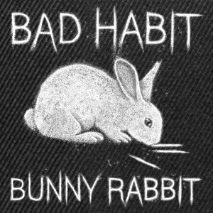 Bad Habit Bunny Rabbit T-Shirts - Snapback Cap