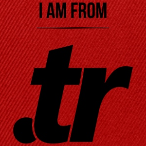 i am from .tr Pullover & Hoodies - Snapback Cap