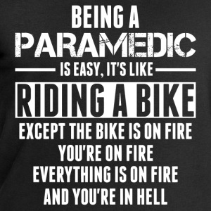 Being a Paramedic is like Riding a Bike T-Shirts - Men's Sweatshirt by Stanley & Stella