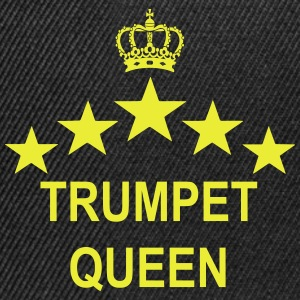 TRUMPET Queen  Tee shirts - Casquette snapback