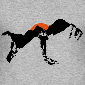Hiking In The Mountains - Männer Slim Fit T-Shirt