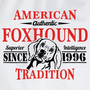 Authentic American Foxhound Tradition T-Shirts - Drawstring Bag