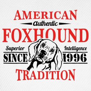 Authentic American Foxhound Tradition T-Shirts - Baseball Cap