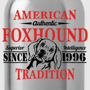 Authentic American Foxhound Tradition T-Shirts - Water Bottle
