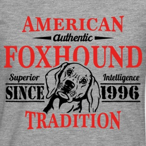 Authentic American Foxhound Tradition T-Shirts - Men's Premium Longsleeve Shirt