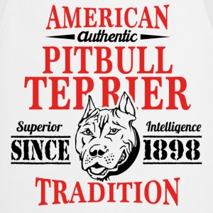Authentic American Pit Bull Terrier Tradition T-Shirts - Cooking Apron