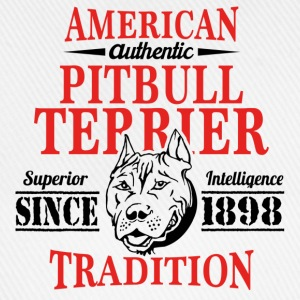 Authentic American Pit Bull Terrier Tradition T-Shirts - Baseball Cap