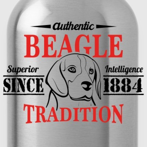 Authentic Beagle Tradition T-Shirts - Water Bottle