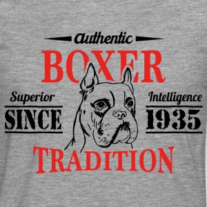 Authentic Boxer Tradition T-Shirts - Men's Premium Longsleeve Shirt
