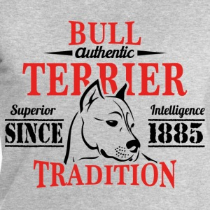 Authentic Bull Terrier Tradition T-Shirts - Men's Sweatshirt by Stanley & Stella