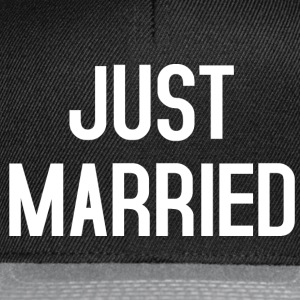 Just Married T-Shirts - Snapback Cap