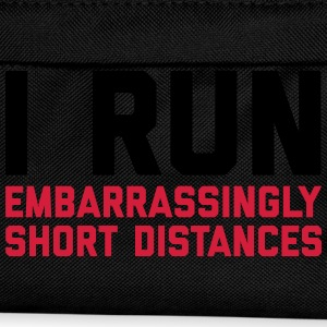 Run Short Distances Funny Quote T-Shirts - Kids' Backpack