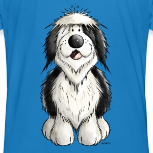 Happy Old English Sheepdog Hoodies & Sweatshirts - Men's Organic T-shirt