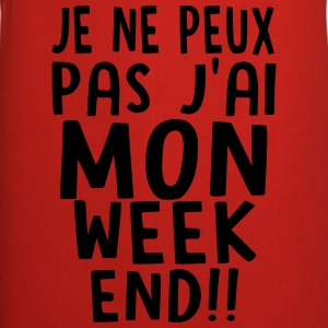 j'ai MON weekend Sweat-shirts - Tablier de cuisine