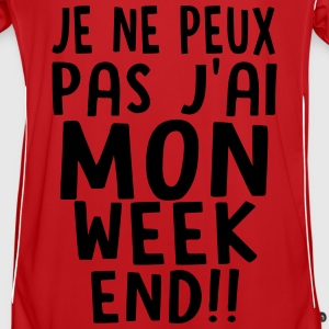 j'ai MON weekend Sweat-shirts - Maillot de football Homme