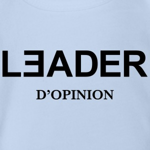 Leader d'Opinion Tee shirts - Body bébé bio manches courtes