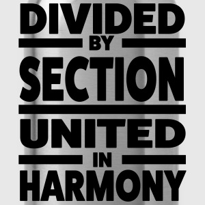 Divided by section - United in Harmony Koszulki - Bidon