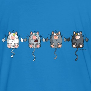 Mignon Chats Sweat-shirts - T-shirt bio Homme