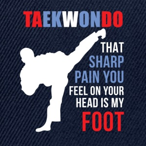 Taekwondo That sharp pain Martial Arts T Shirt Mugs & Drinkware - Snapback Cap