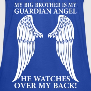 My Big Brother Is My Guardian Angel T-Shirts - Women's Tank Top by Bella