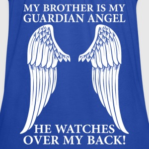 My Brother Is My Guardian Angel T-Shirts - Women's Tank Top by Bella