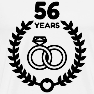56 - Birthday Wedding - Marriage - Love Schürzen - Männer Premium T-Shirt