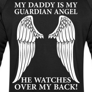 My Daddy Is My Guardian Angel T-Shirts - Men's Sweatshirt by Stanley & Stella