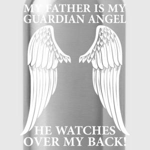 My Father Is My Guardian Angel T-Shirts - Water Bottle