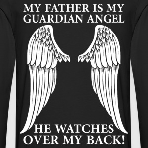 My Father Is My Guardian Angel T-Shirts - Men's Premium Longsleeve Shirt