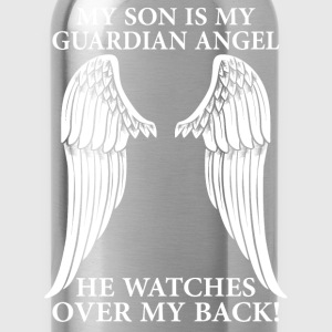 My Son Is My Guardian Angel T-Shirts - Water Bottle