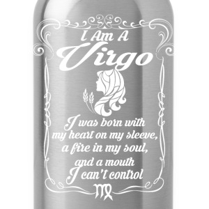 I Am A Virgo T-Shirts - Water Bottle