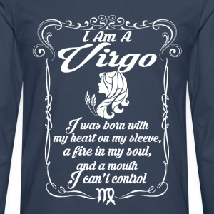 I Am A Virgo T-Shirts - Men's Premium Longsleeve Shirt