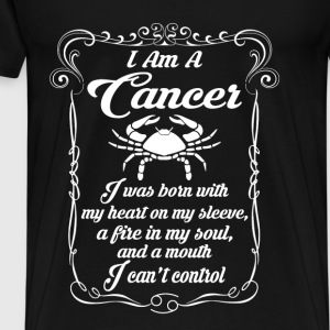 I AM A Cancer Tops - Men's Premium T-Shirt