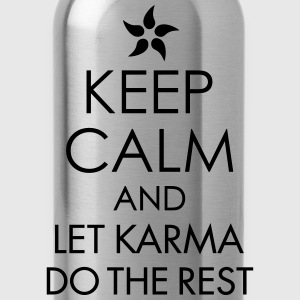Keep Calm And Let Karma Do The Rest - Water Bottle