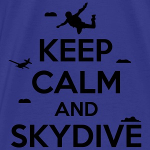 keep calm and skydive Bags & Backpacks - Men's Premium T-Shirt