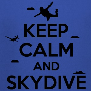 keep calm and skydive T-Shirts - Kids' Premium Hoodie