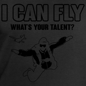 skydiving: I can fly - what's your talent?  Koszulki - Bluza męska Stanley & Stella