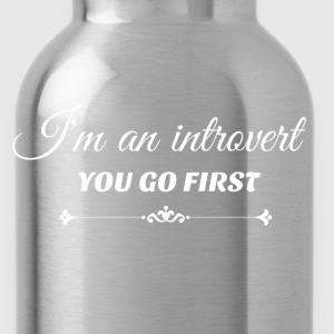 you go first white.png Hoodies & Sweatshirts - Water Bottle