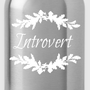 introvert white.png Hoodies & Sweatshirts - Water Bottle
