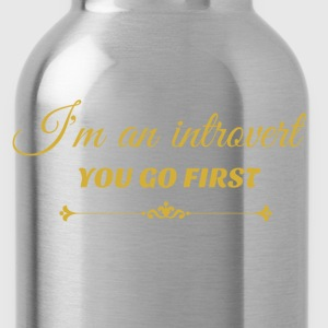 you go first metalic gold.png Hoodies & Sweatshirts - Water Bottle