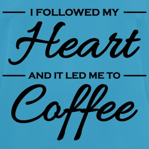 I followed my heart and it led me to coffee Sportsbeklædning - Herre T-shirt svedtransporterende