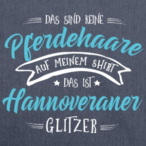 Glitzer Hannoveraner T-Shirts - Schultertasche aus Recycling-Material