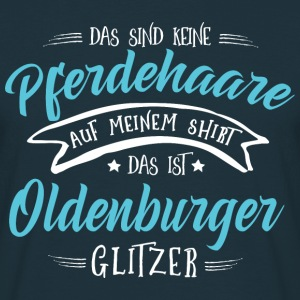 Glitzer Oldenburger Pullover & Hoodies - Männer T-Shirt