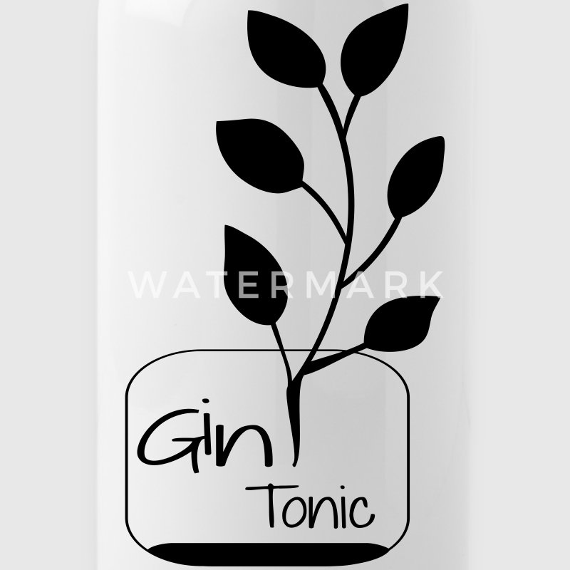 Gin Tonic drink design - Trinkflasche