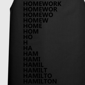 Hamilton Homework T-Shirts - Cooking Apron