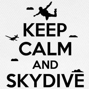 keep calm and skydive T-Shirts - Baseballkappe