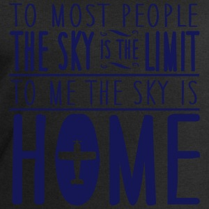 skydiving: sky is home, not the limit Magliette - Felpa da uomo di Stanley & Stella